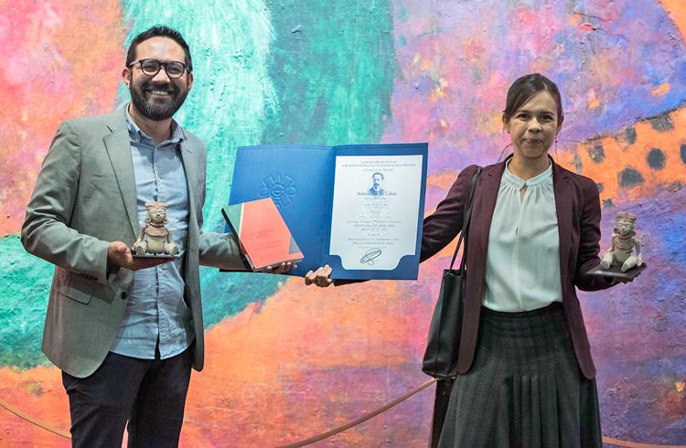 Luis Vargas y Ekaterina Álvarez. Fotos: Carlos Hernández