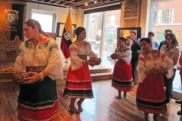 Presentación del Ballet Folclórico de Ecuador.