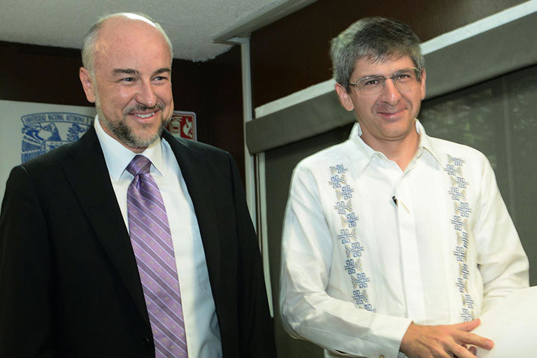 Rodolfo Zanella y William Lee. Foto: Francisco Cruz.