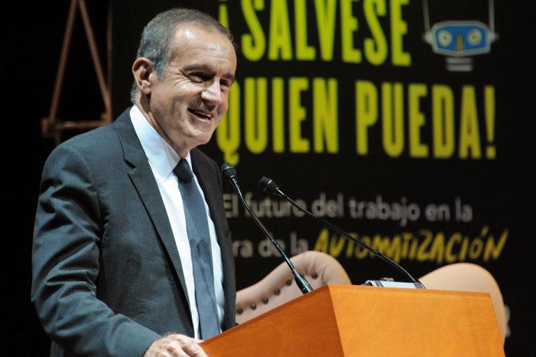 Andrés Oppenheimer. Foto: Benjamín Chaires.