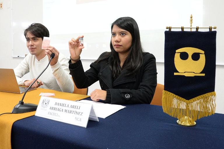 Jorge Alberto López y Daniela Arriaga. Foto: Francisco Parra.