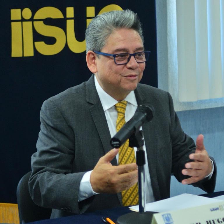 El doctor en Filosofía y Ciencias de la Educación. Foto: Víctor Hugo Sánchez.