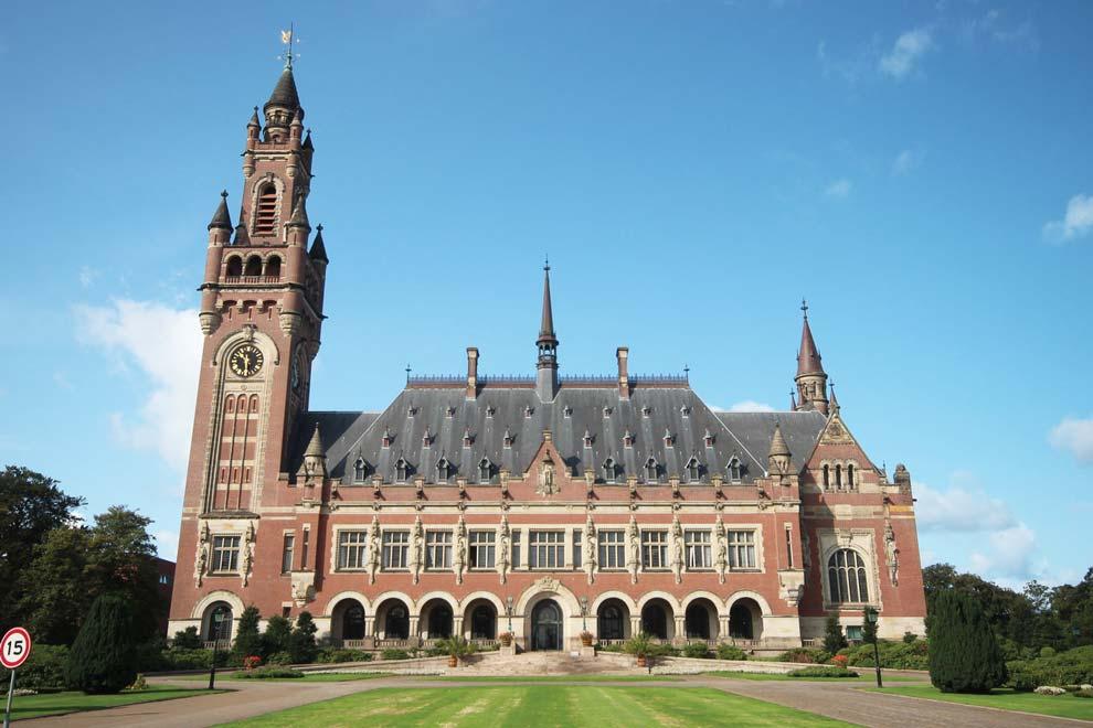 El Palacio de la Paz, en La Haya, Holanda.